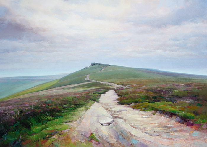 Derwent Edge  - painting by Jerry Smith